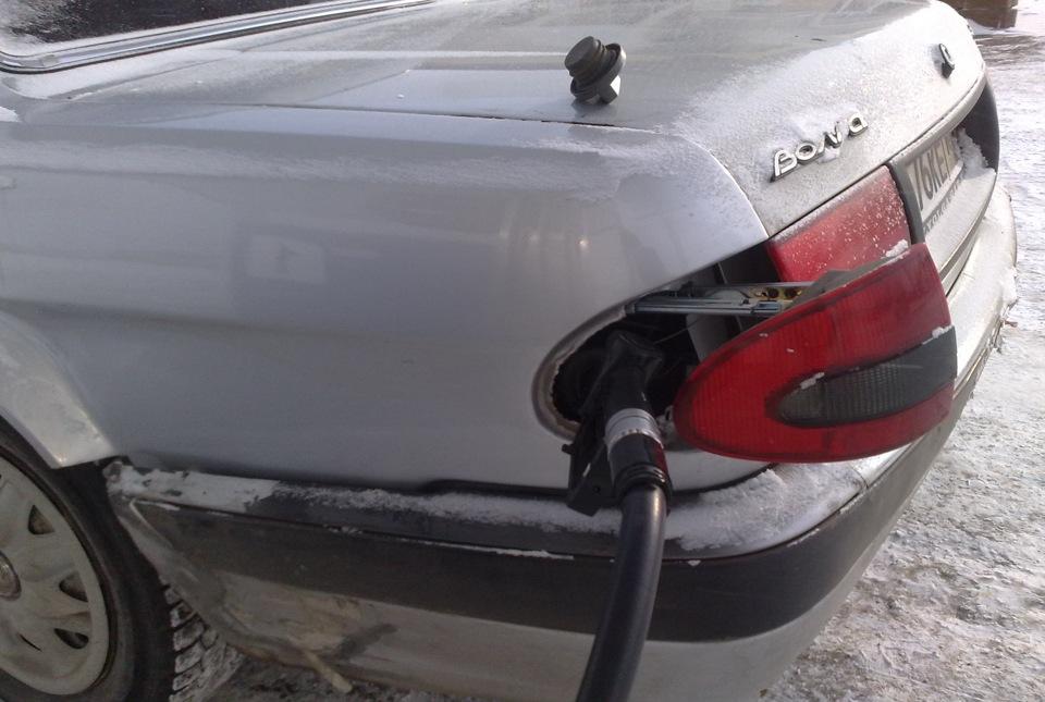 Как сделать чтобы не сливали бензин на ваз 2115