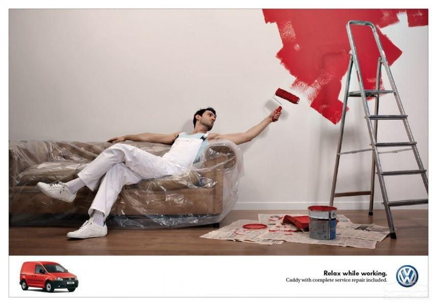 отметить, креативная реклама ремонта квартир фото белый боровой чаще
