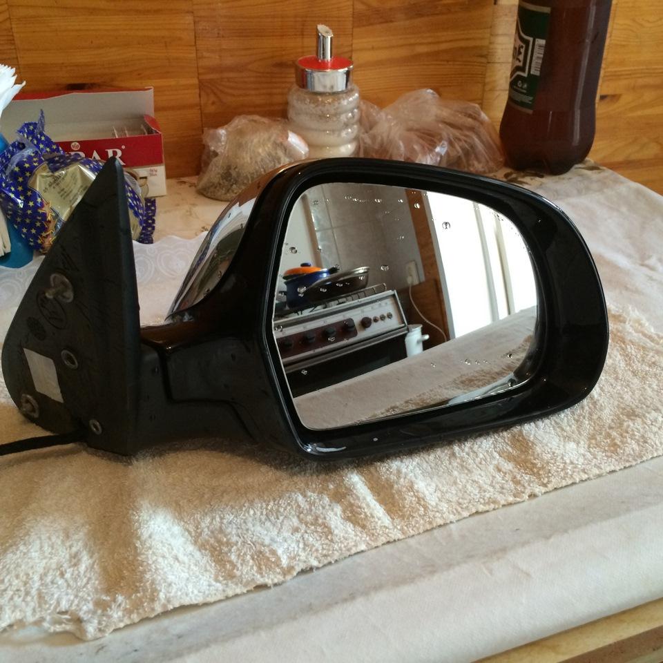 разбор skoda superb зеркало