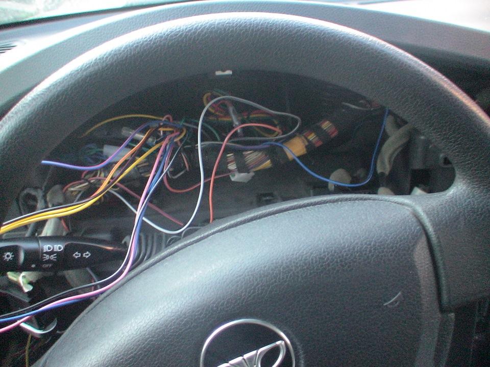 Установка сигнализации с автозапуском на нексию своими руками 10