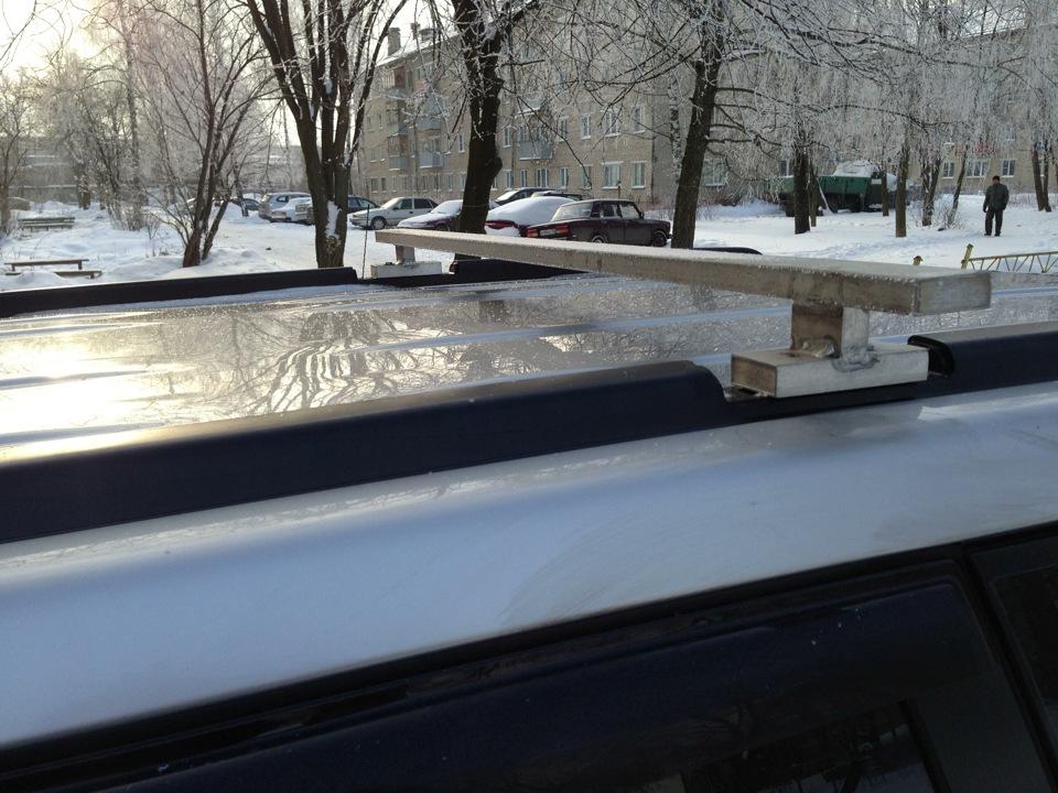 Багажник на крышу на рейлинги своими руками фото 631