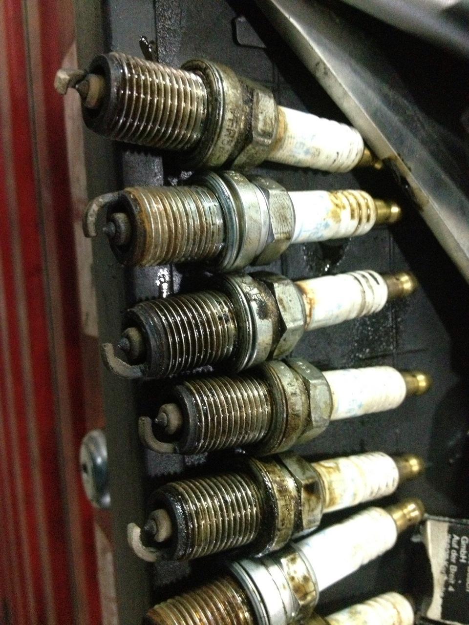 свечи зажигания на 112 мотор мерседес