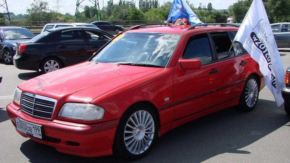 Mercedes benz c class estate magma red t model drive2 for Mercedes benz c class t model