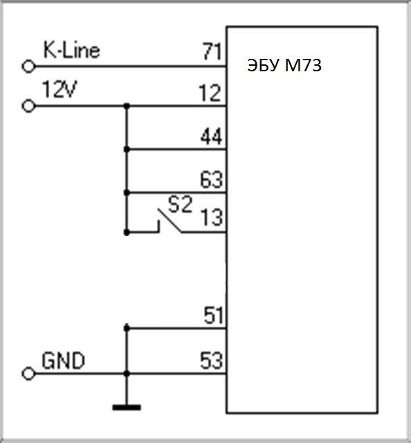 Схема перепрошивки м73