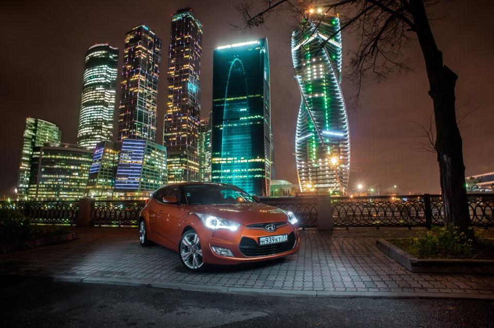 уже ночная фотосессия в москве для авто восточной красотой