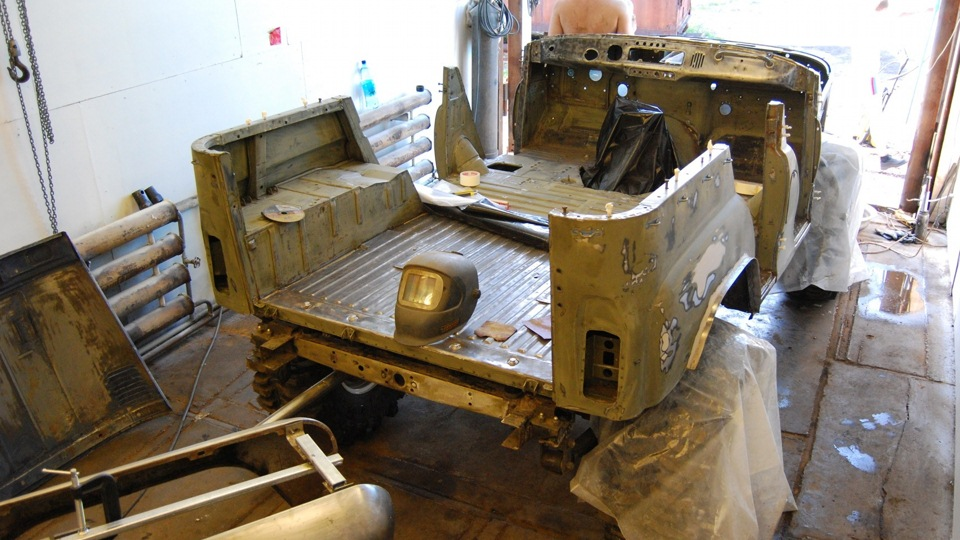 Ремонт кузова на уаз 469
