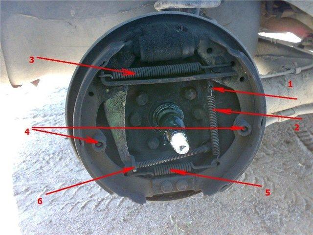 Как заменить тормозные колодки на фольксваген пассат б3