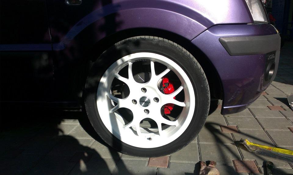 ford fusion покраска суппортов