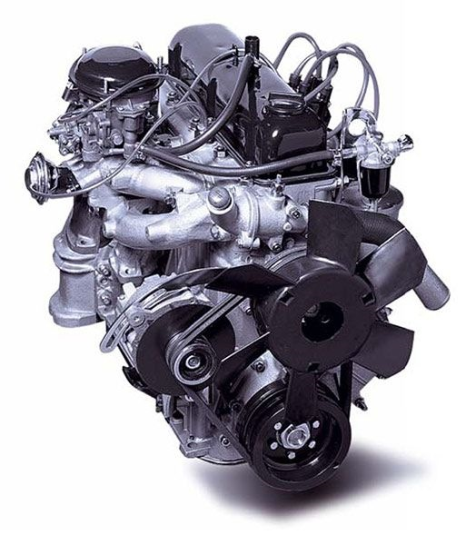 Сборка змз-511 двигателя