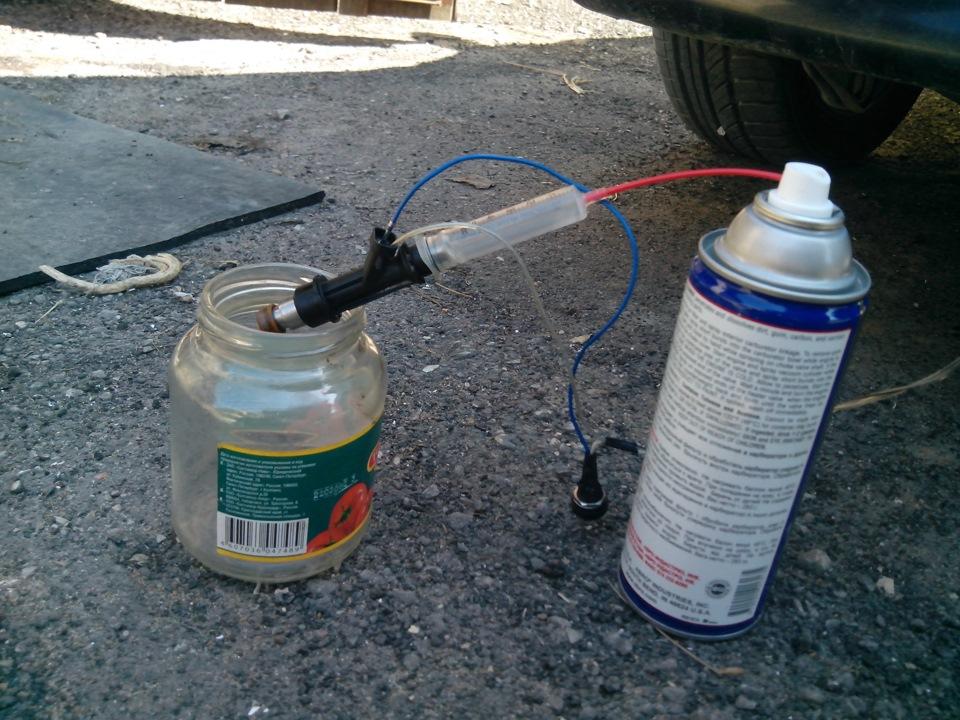Калина промывка инжектора