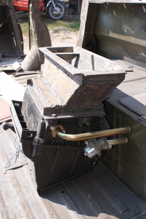 Печка в уаз 469 своими руками