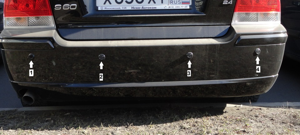volvo xc70 не работает парктроник