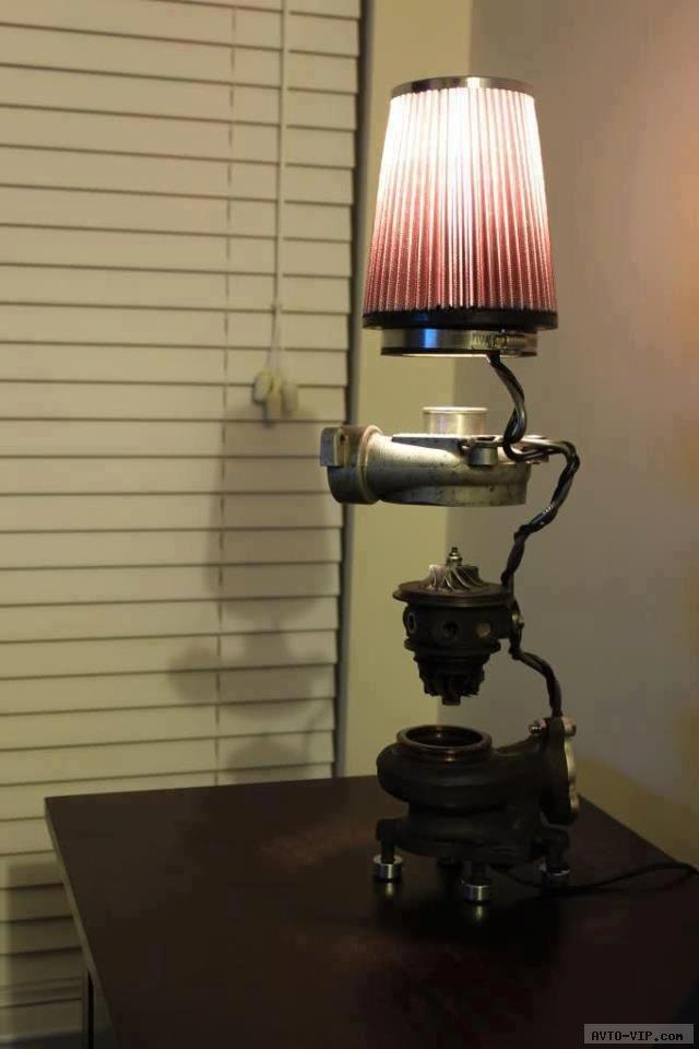 Настольная лампа в гараж