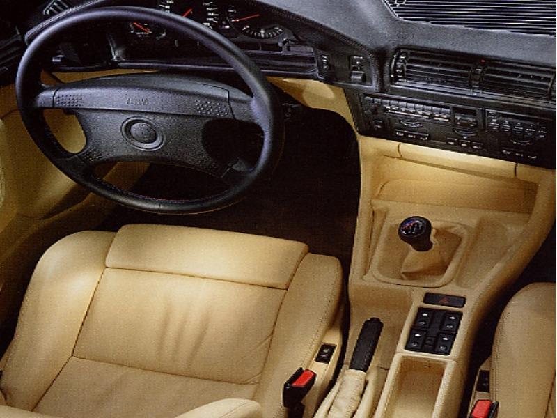 История BMW е34 М5 часть I