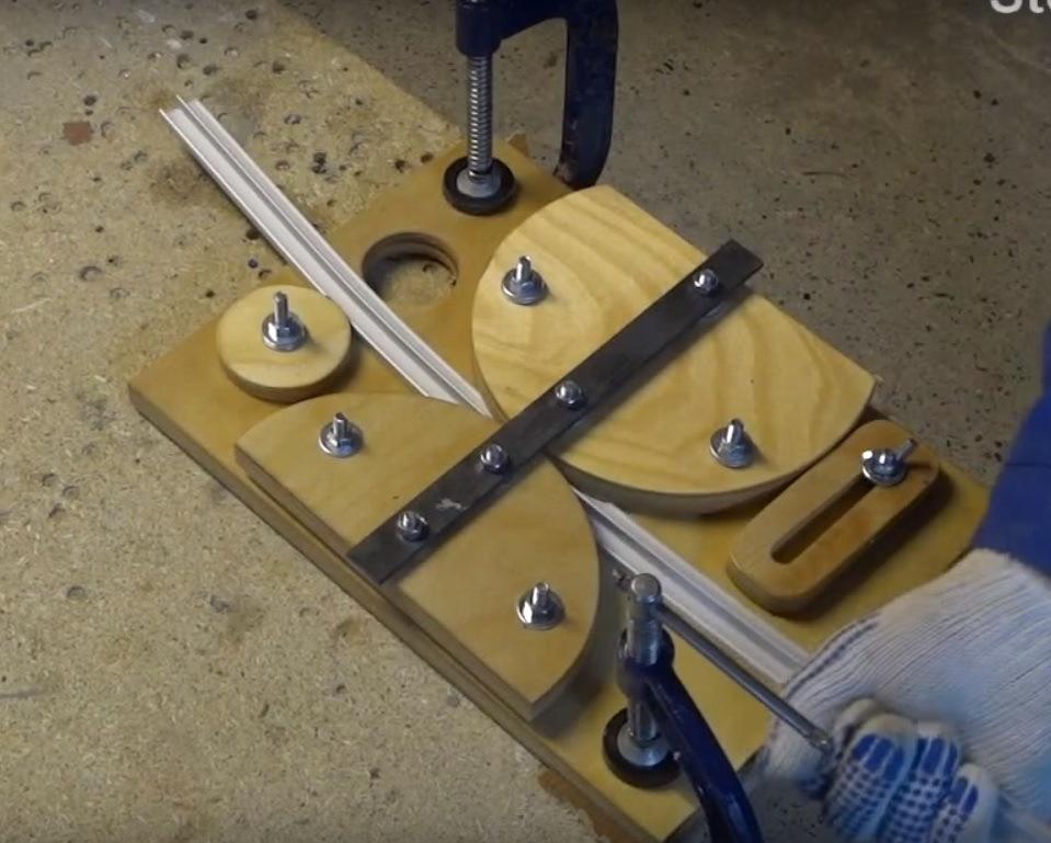 Как согнуть алюминиевый профиль своими руками