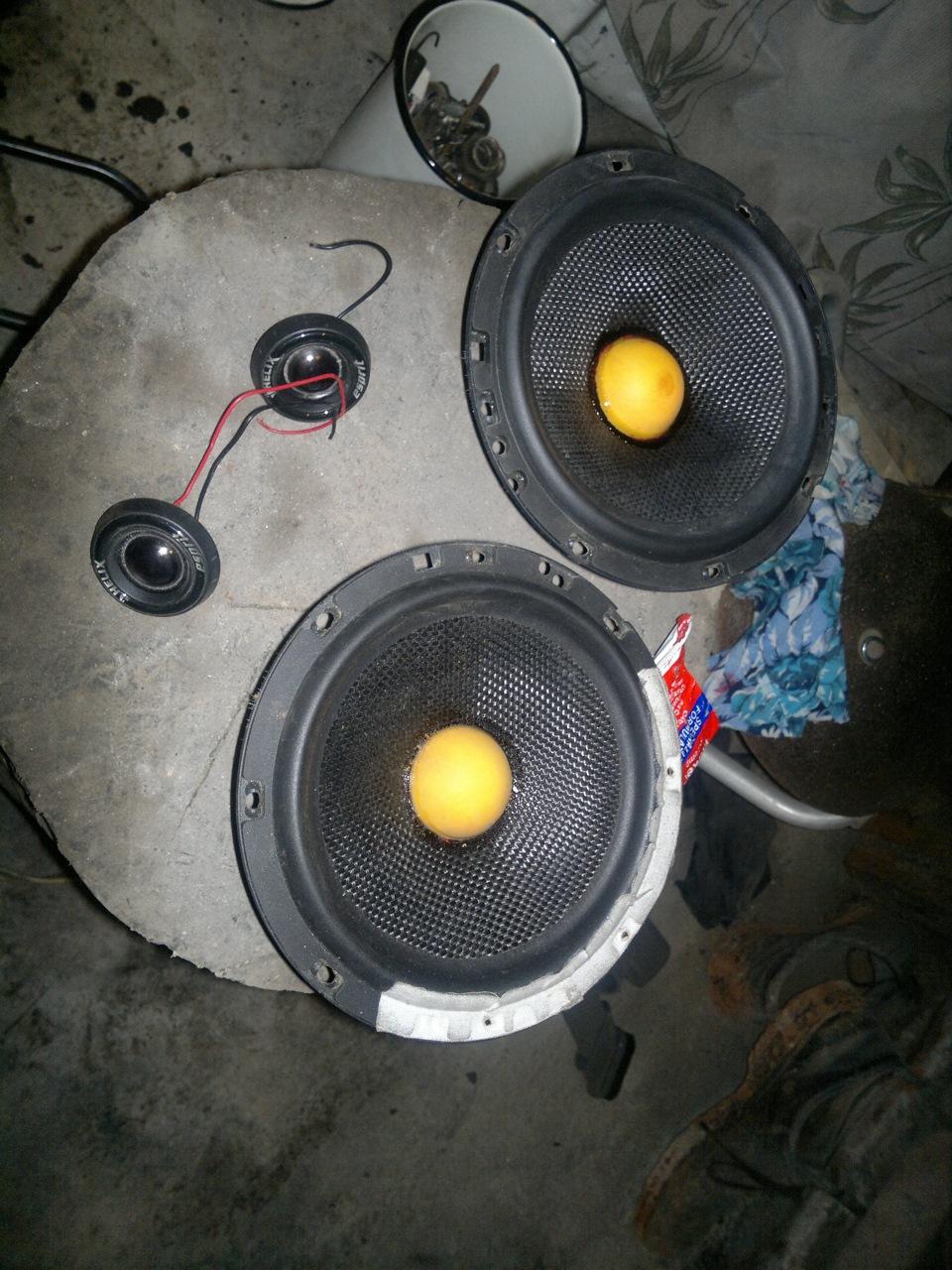 Коаксиальная акустика своими руками