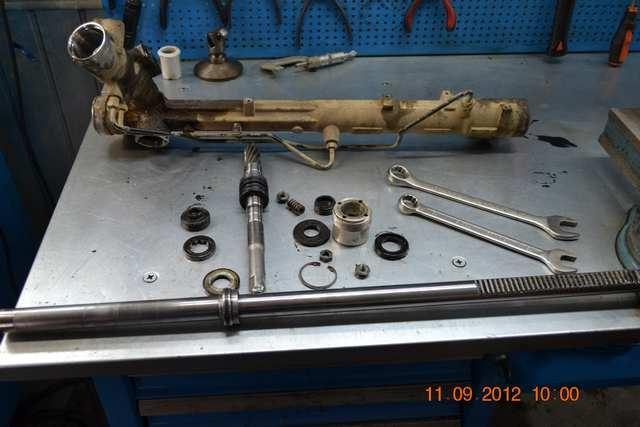 форд фокус 3 стук рулевой рейки ремонт #15