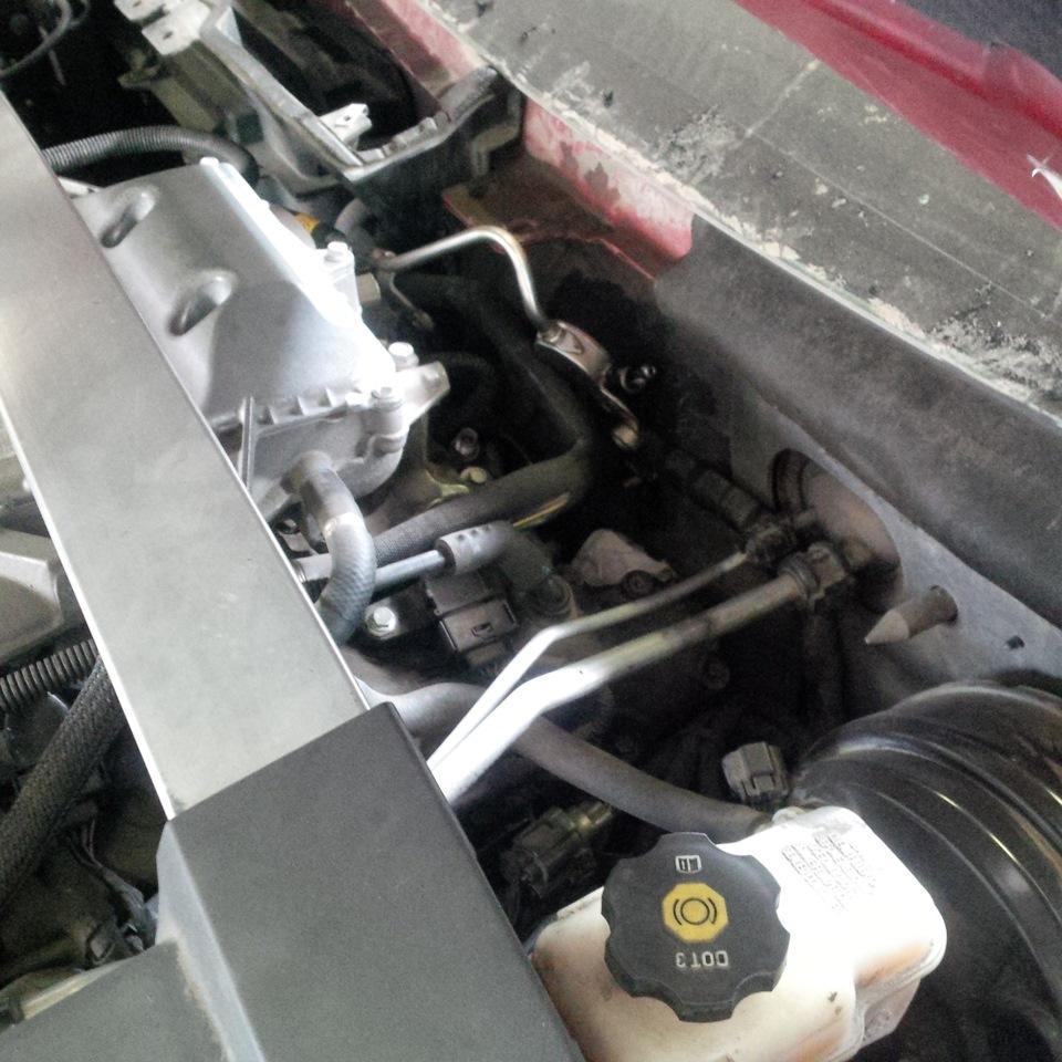 Замена ТНВД Cadillac CTS2, P0087, P0089, куда лезть, что