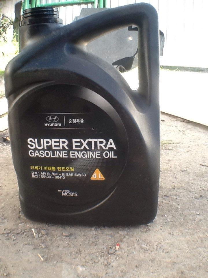масло hyundai extra gasoline форум