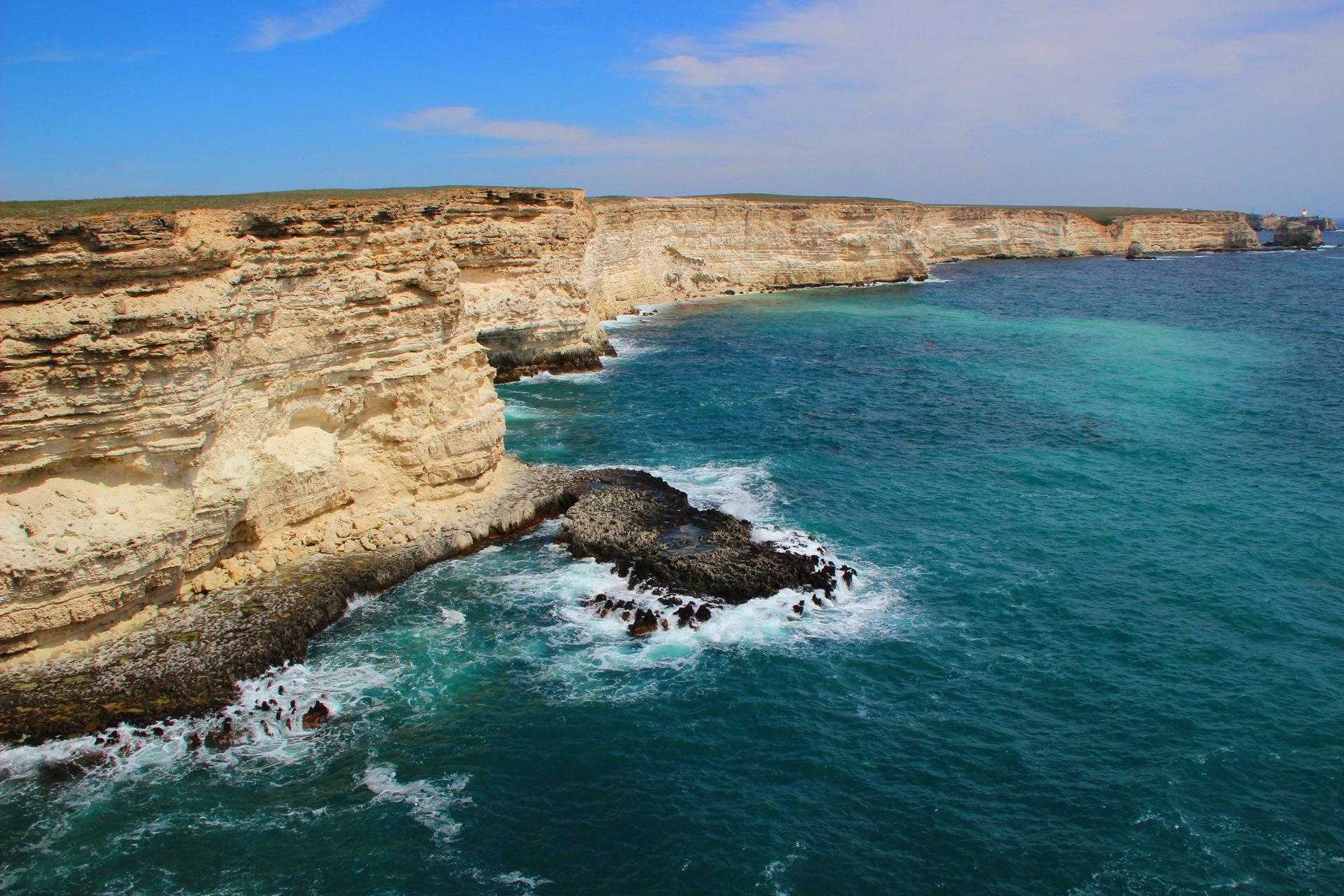 крым тарханкут фото пляжей и набережной котлы