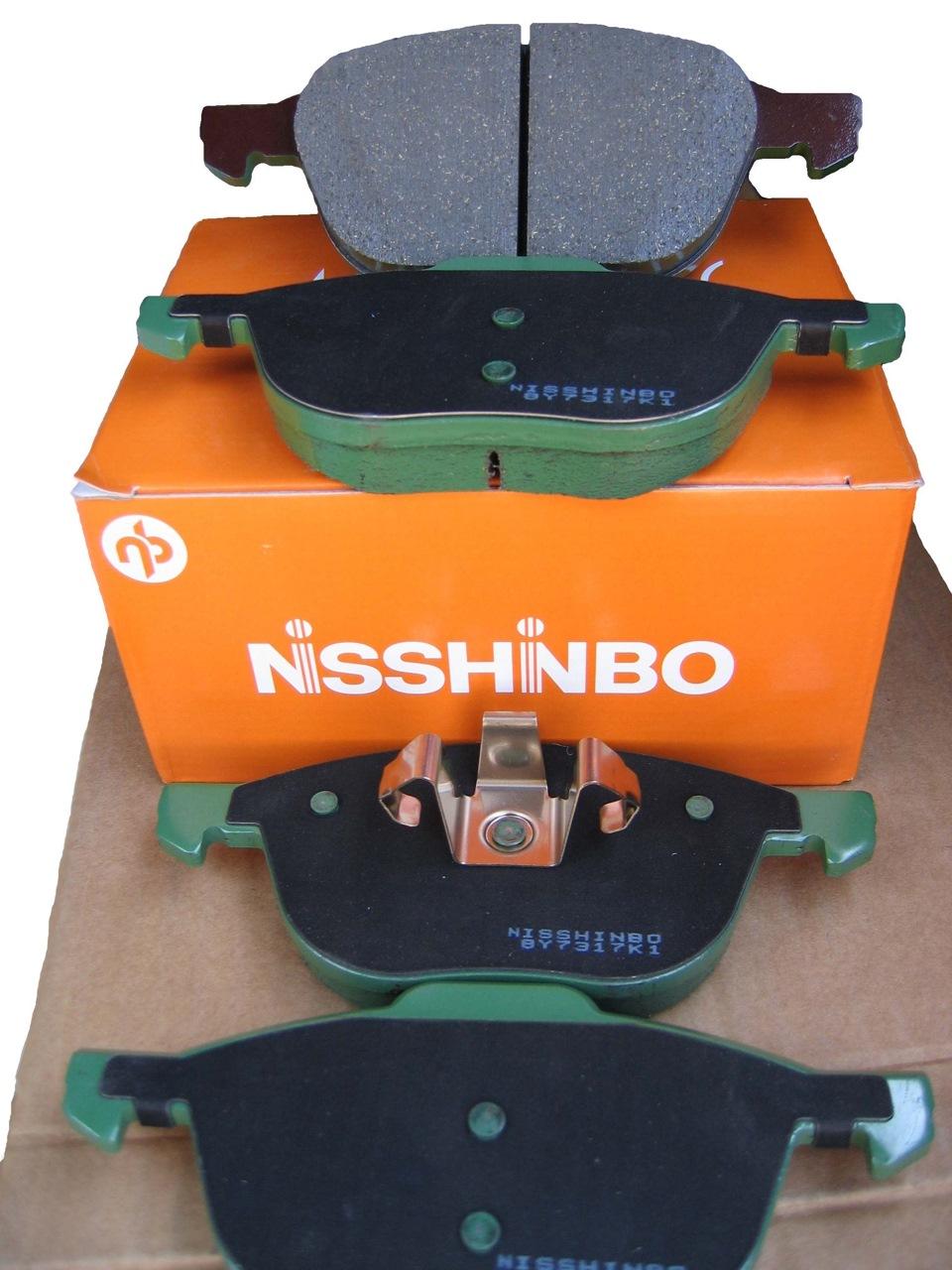 колодки тормозные нишимбо фото
