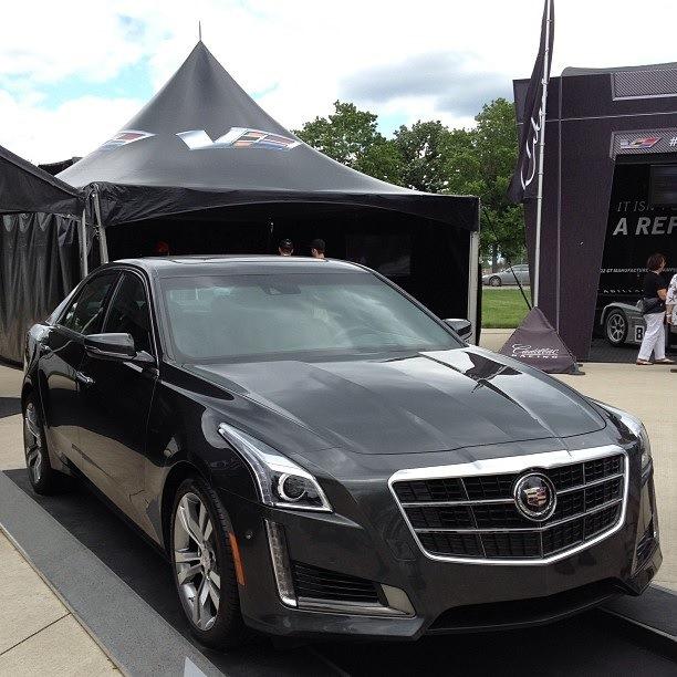 Cadillac cts новый цена