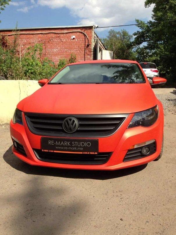 Plasti Dip — оранжевый Passat CC — RE-MARK STUDIO на DRIVE2 Инфинити Машина