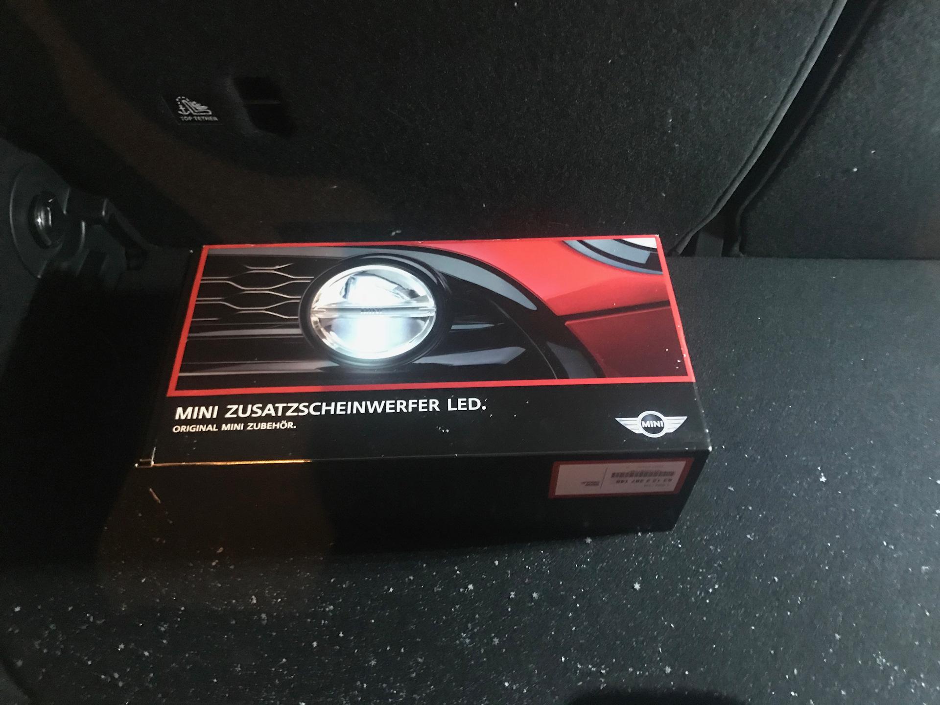 Rally Lights доп дальний Mini Cooper S 20 л 2017 года на Drive2