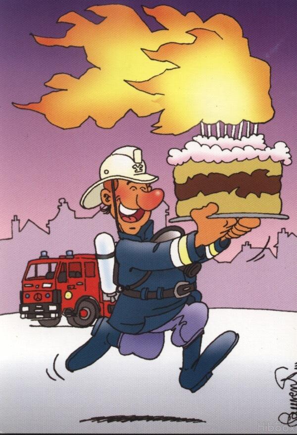 Поздравление пожарного с днем рождения картинки