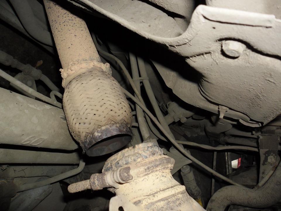 Установка и замена гофры глушителя пежо 406 Диагностика форсунок двигателя форд куга 2