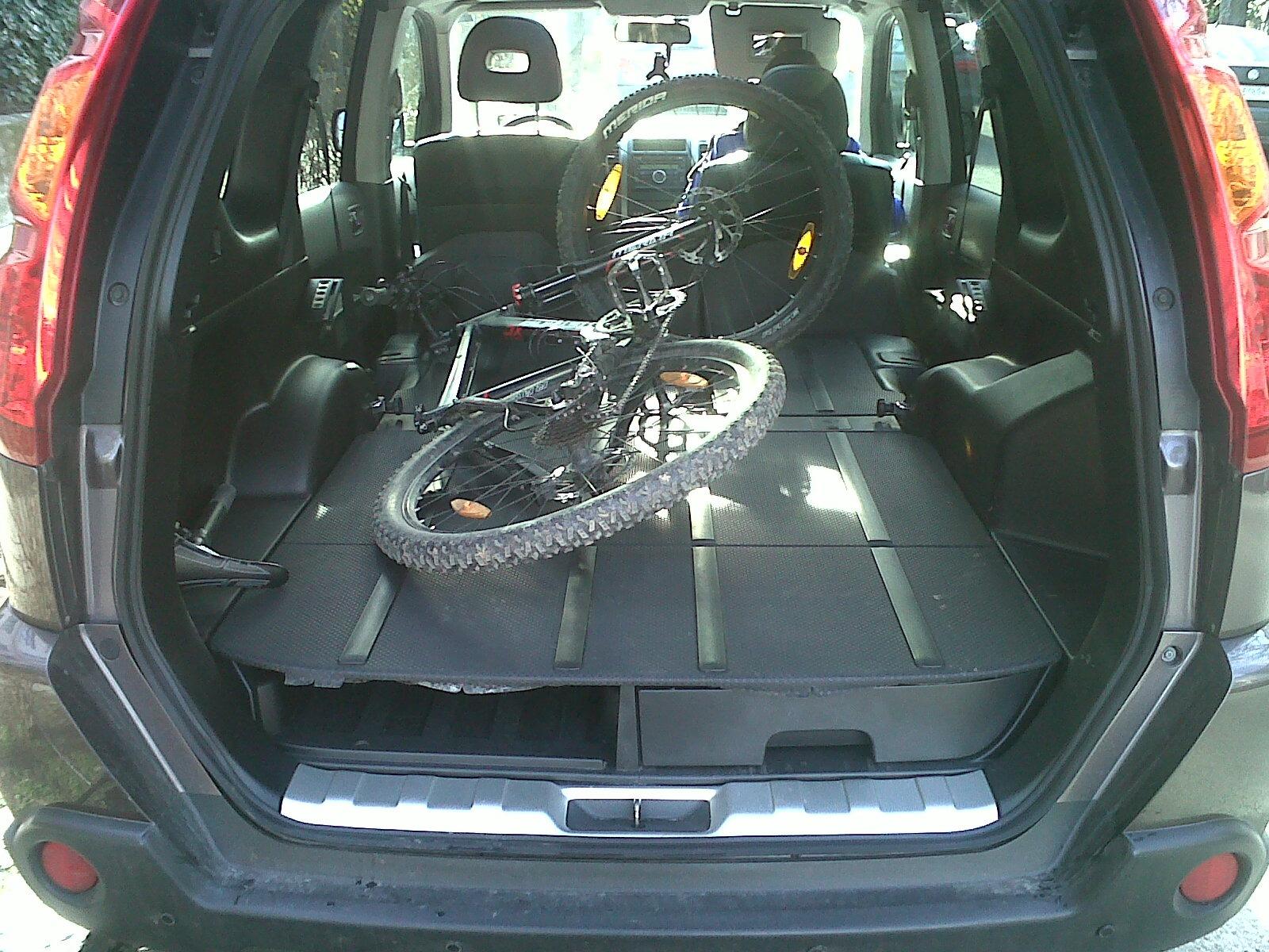 Ниссан х трейл фото багажника