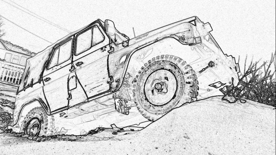 УАЗ 31512 SandpipeR (Песочник)