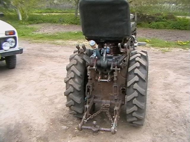 Минитрактор с колеей 70 см