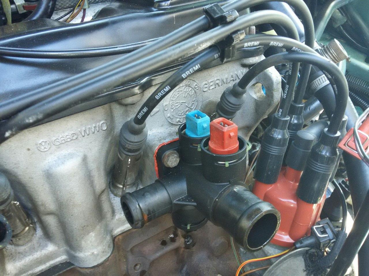 Система охлаждения двигателя фольксваген пассат б4 схема фото