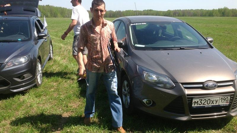 Коричневый форд фокус 3 фото