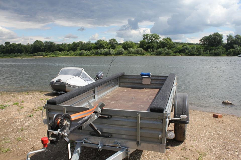 Переделка прицепа для лодки пвх чертежи фото