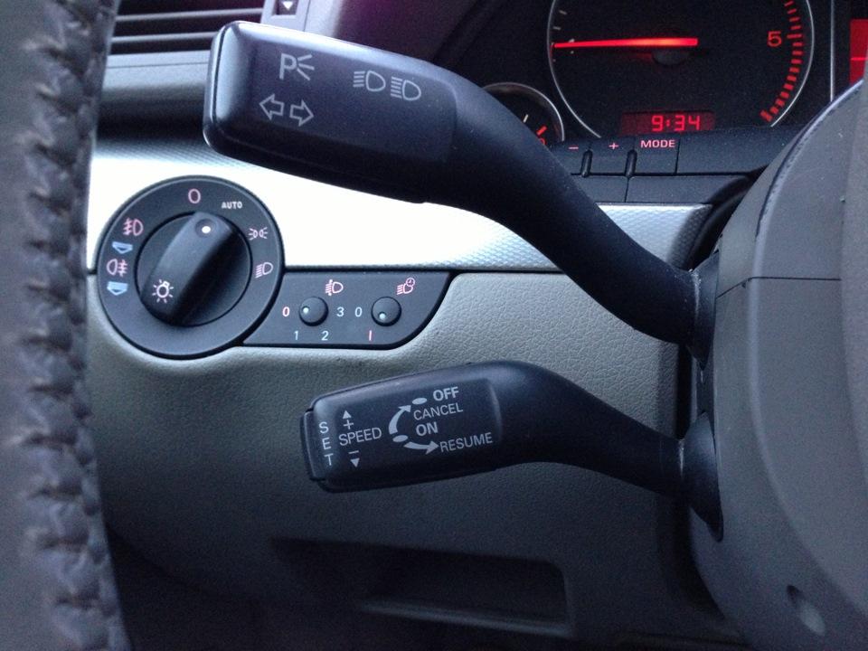 круизконтроль на audi a6 c5 2000 года выпуска