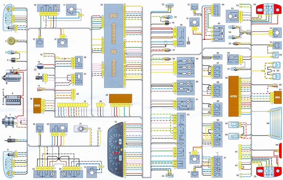 нива шевроле схема 2015 электропроводки