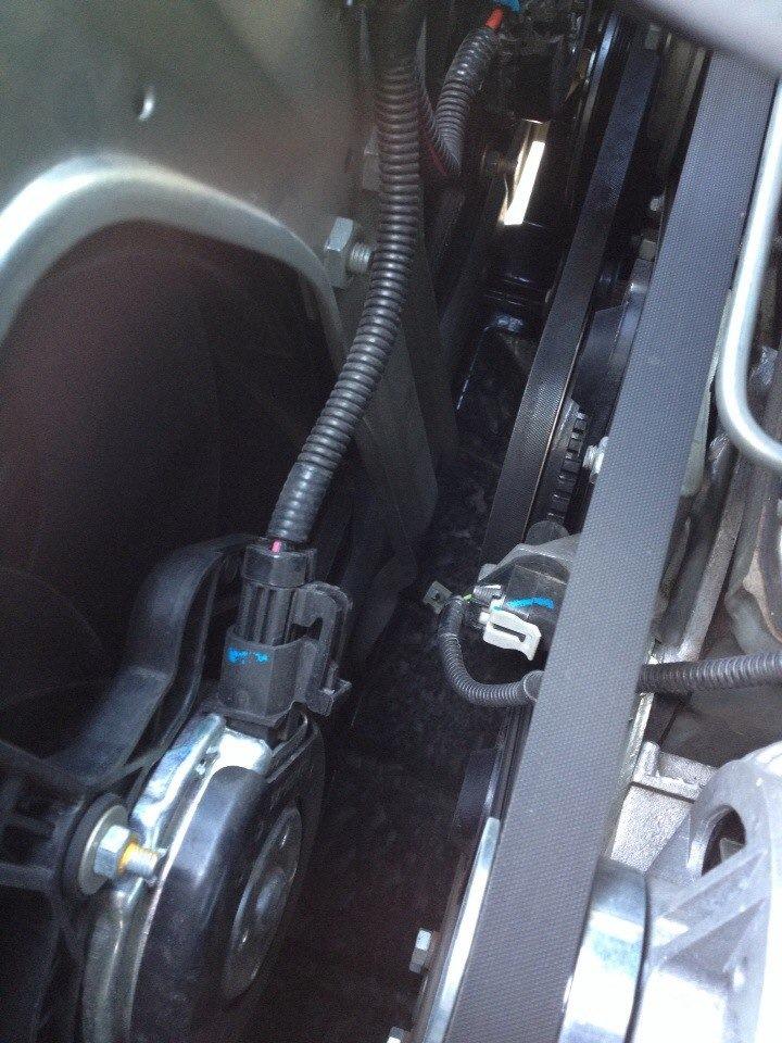 как работает радиатор на chevrolet niva