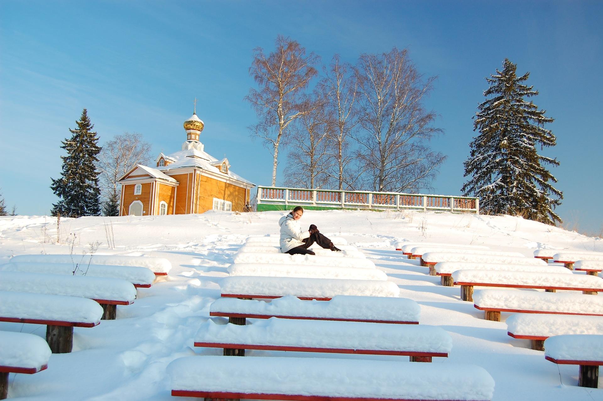 человечества селигер зима фото сладкая