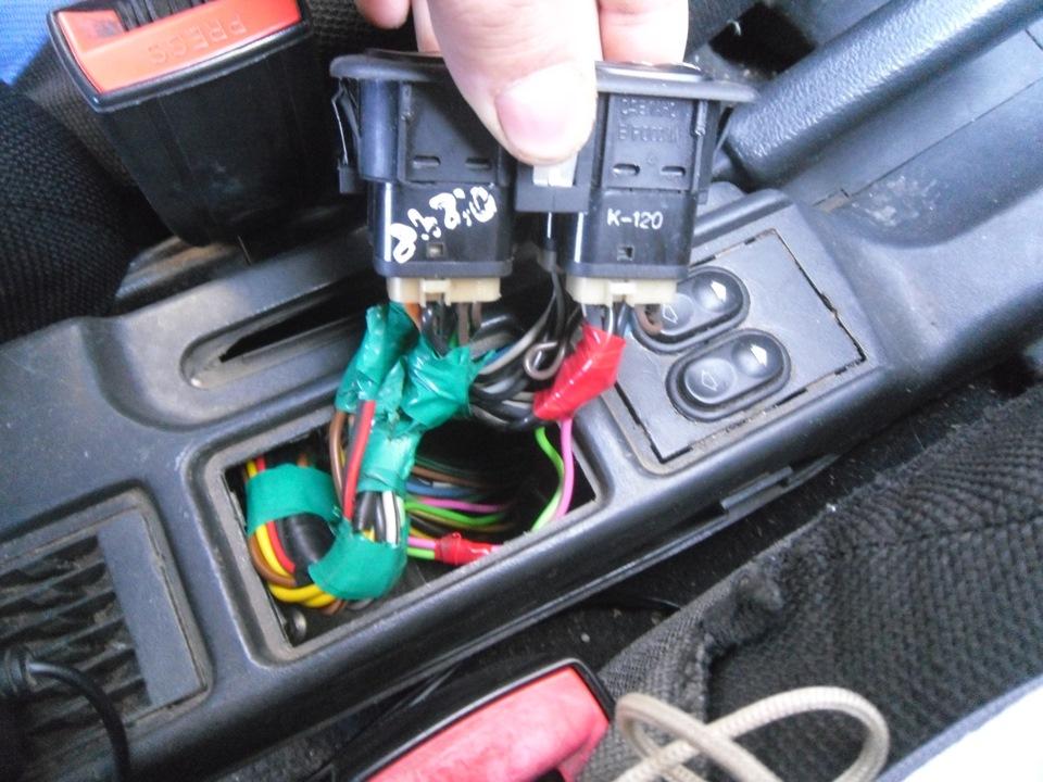 Фото №20 - ремонт кнопки стеклоподъемника ВАЗ 2110