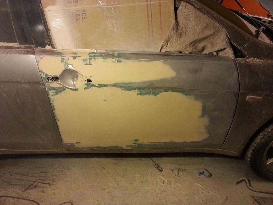 Покраска дверей автомобиля своими руками 54