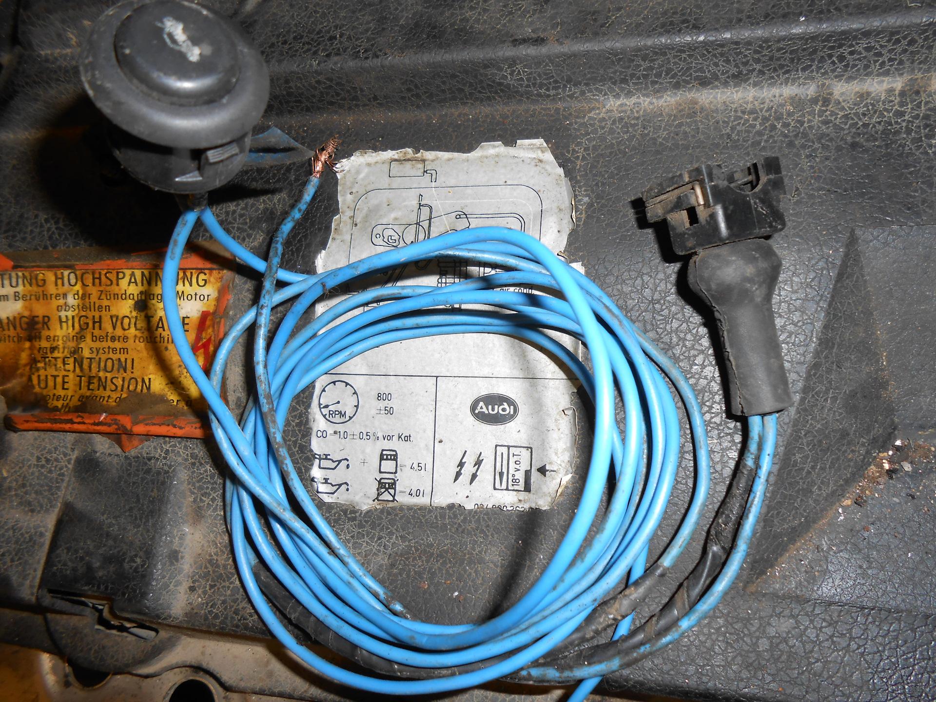 Как сделать диагностику Audi 100 2.3 AAR-94г?Нужен совет срочно 19
