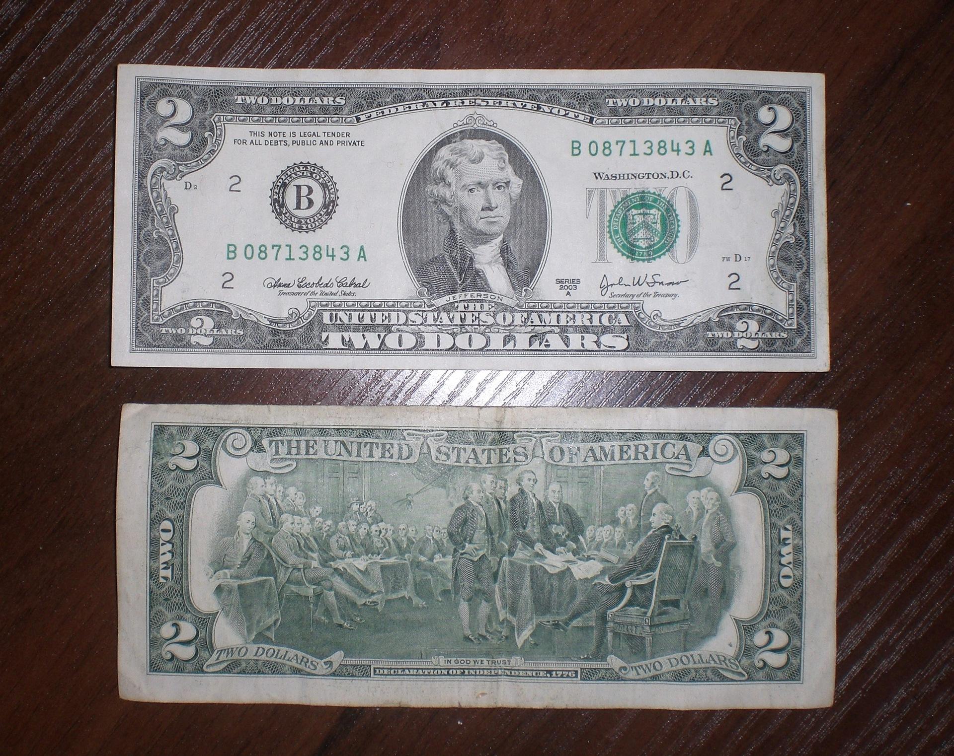 Стоимость 2 долларовой купюры 2003 набор монет барселона 92