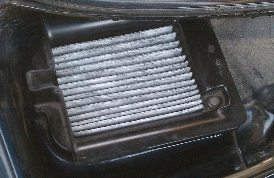 Салонный угольный фильтр своими руками бортжурнал Audi 80 Моя малышка
