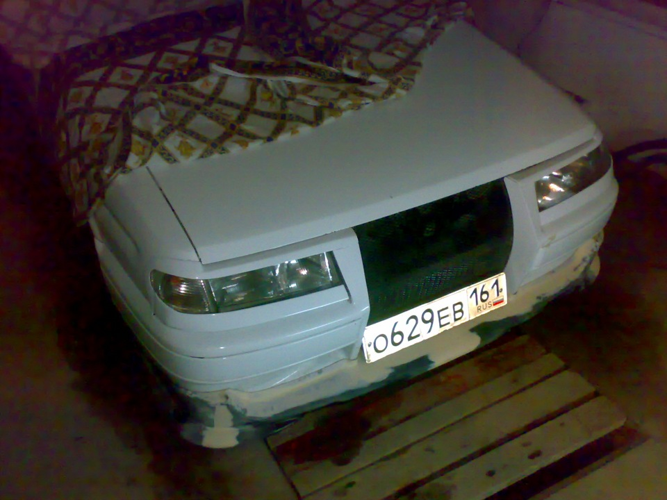 Фото №24 - губа на бампер ВАЗ 2110