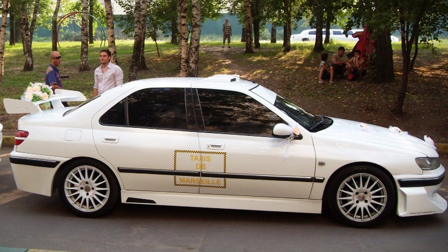 peugeot 406 тюнинг обвес как из такси