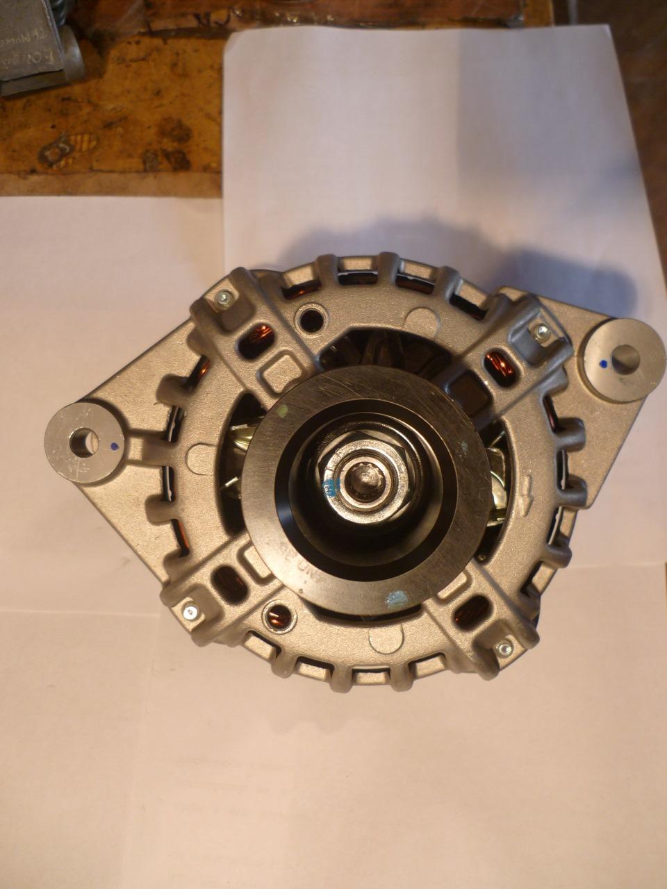 генератор змз 405 схема подключения