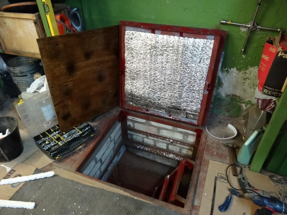 Как сделать люк в гараже