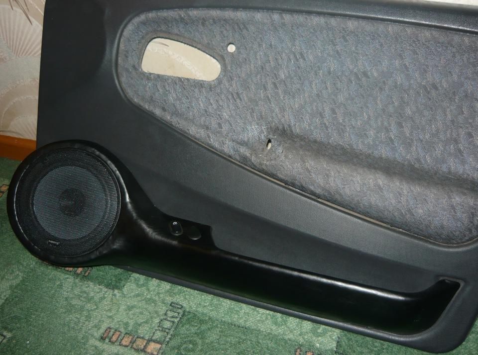 Подиумы в авто своими руками в ваз 2114
